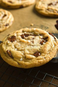 NYT Cooking: You may have memorized the foolproof gem on the back of the Toll House bag, given to the world by Ruth Graves Wakefield in the 1930s. But this may become your new favorite chocolate chip cookie recipe. It's a little more complicated, and you'll have to plan ahead: after assembling the dough, you must chill it for at least 24 hours before baking it, and preferably%2...