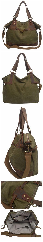 Canvas Leather Bag Briefcase Bag Messenger Bag Shoulder Bag Laptop Bag