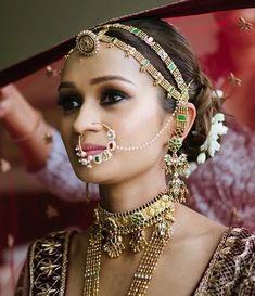 Indian Wedding, Wedding Ceremony, Bride, Bridal Jewellery, Traditional Jewellery, Rajasthani Jewellery, Jewellery, Rajput bride, headpiece, Head Accessory, Bridal Accessories, Sheeshpatti Bridal Jewellery Inspiration, Wedding Jewelry, Rajasthani Bride, Rajputi Jewellery, Silver Toe Rings, Wedding Crashers, Gold Bangles, Wedding Season, Fashion Bracelets