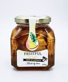 100% Natural, Raw honey infused with dried natural Pineapple fruit. All-natural in every way, these light yellow sweets are the perfect pick-me-up any time of day. Dried Pineapple, Pineapple Fruit, Australian Honey, Raw Honey, Pick Me Up, Preserves, Harvest, Sweets, Fresh