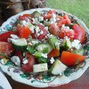 Watermelon Salad with Feta & Mint Recipe & Video Hearty Chili Recipe, Chili Recipes, Sauce Recipes, Chimichurri, Fresco, Dumpling Dipping Sauce, Kebab, Mint Recipes, Feta Salad