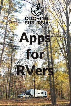 Apps we use as fulltime RVers.