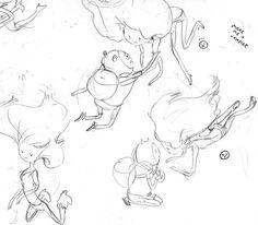 Marceline drawings - Rebecca Sugar