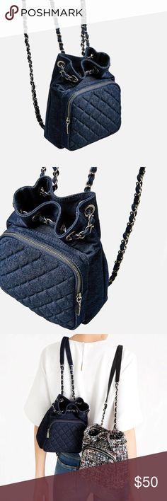 ZARA MINI BACKPACK BRAND NEW WITH TAG Zara Bags Backpacks