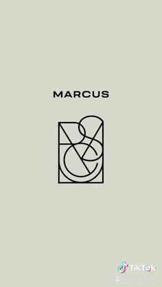 A logo design using the letters in the name Marcus! Part of the #namelogochallenge on TikTok: @cami.creative