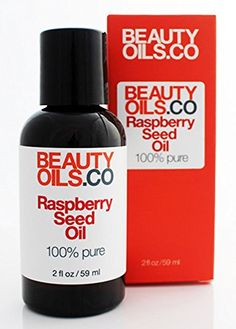 BEAUTYOILSCO Raspberry Seed Oil  100 Pure ColdPressed Beauty Face Oil Moisturizer 2 fl oz -- See this great product.
