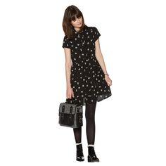 H! by Henry Holland Black panda print shirt dress- at Debenhams.com