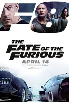 Fast and Furious 8 The Fate of The Furious Movie poster - Vin Diesel,Dwayne Johnson and Charlize Theron Michelle Rodriguez, Vin Diesel, Dwayne Johnson, Rock Johnson, Movies To Watch, Good Movies, Movies Free, Free Films, Super Hq
