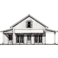 Allison Ramsey Architects | Floorplan for Albemarle Cabin - 824 square foot house plan # C0614
