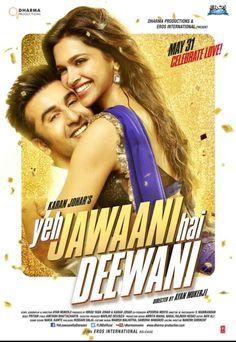 'Yeh Jawaani Hai Deewani' poster feat. Deepika Padukone and Ranbir Kapoor