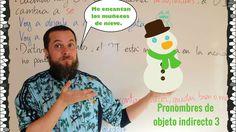 Pronombres de objeto indirecto 3
