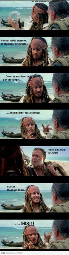 Just Jack Sparrow. Just Jack Sparrow. Johnny Depp, Captain Jack Sparrow, Elisabeth Swan, Jack Sparrow Quotes, Jack Sparrow Funny, Funny Memes, Hilarious, Funny Quotes, Jokes