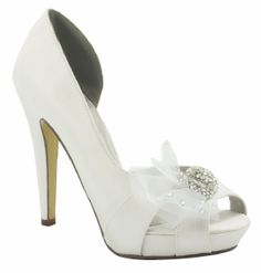 White silk Liz Rene Paulette Bridal Shoes http://www.bellissimabridalshoes.com/White-silk-Liz-Rene-Paulette-Bridal-Shoes-Prodview.html