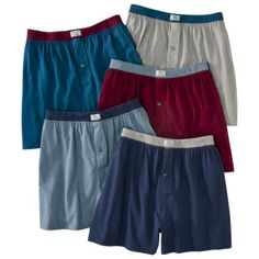 Consider it a romantic gift? Fruit of the Loom® Men's 5pk Boxers - Assorted and Varied Colors