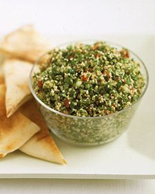 Martha Stewart's version of Tabbouleh.  Yummy!