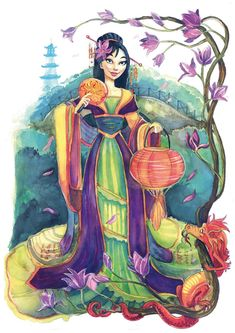 Mulan by Vasylissa.deviantart.com on @DeviantArt