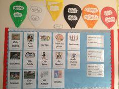 Teilifis rang a 4 class TVs Classroom Wall Displays, Classroom Walls, 6 Class, Television Program, Tvs, Knowledge, Teaching, Irish, Irish Language