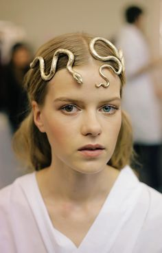 Valentino Spring 2016 Couture Snake Headband Allure