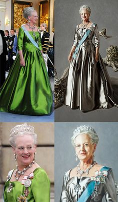 "♥♥♥  The Queen of Denmark Queen Margrete--aka ""Daisy"" A real favourite of mine.."