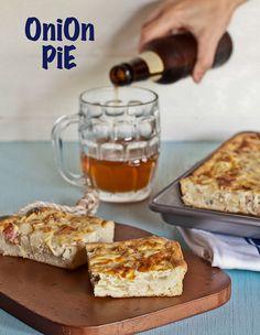 onion pie