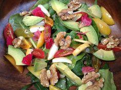 Barhi Date and Bitter Greens Salad