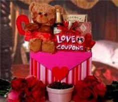 Romantic Gift Baskets - Not just for Valentine's Day - Great for Romantic Occassions