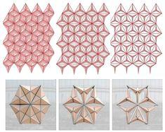 Parametric Hybrid Wall - a Responsive Surface for Exhibition Design Folding Architecture, Architecture Portfolio, Sustainable Architecture, Architecture Design, Architecture Diagrams, Parametrisches Design, Facade Design, Pattern Design, Nirmana 3d