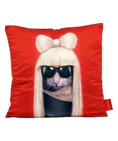 GG Throw Pillow #zulily #zulilyfinds