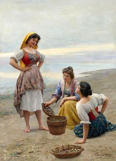 Австрийский художник Eugen von Blaas (1843-1931)