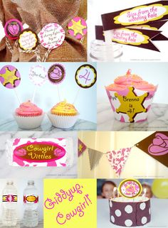Pink Cowgirl Theme Party Decor