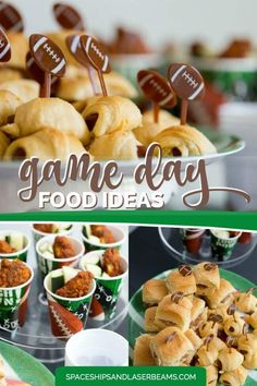 Football Party Game Day Food Ideas #ad