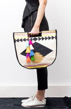 Hola round carry bag