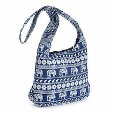 Pritties Accessories Blue and White Tribal Elephant Print Cross Body Slouch Messenger Shoulder Bag Online Shopping, Ebay Shopping, Tribal Elephant, Elephant Print, White Elephant, Pink, Crossbody Bag, Blue And White, Womens Fashion