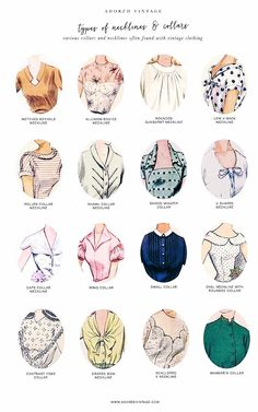 fashion vocabulary for tops * tops vocabulary fashion vocabulary tops fashion vocabulary for tops tops and bottoms vocabulary women tops vocabulary Fashion Sewing, Diy Fashion, Ideias Fashion, Fashion Dresses, Couture Dresses, Olsen Fashion, Modest Fashion, Couture Fashion, Korean Fashion