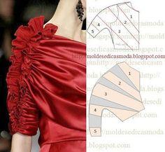 Moldes de moda para Medida: DETALLES DE MODELAJE - 16