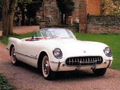 1953  The first Corvette