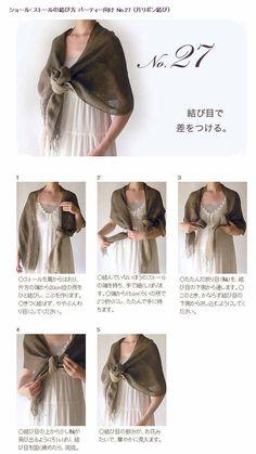 Tie a scarf #27/50