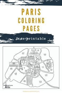 I have converted several of my Paris illustrations into a pdf with free Paris coloring pages that are printable for you to print out and enjoy! Ireland Travel, Galway Ireland, Cork Ireland, Ireland Vacation, Europe Travel Tips, Travel Guides, Travel Destinations, Travel Movies, Travel Books