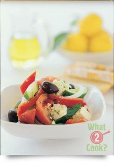 Greek Salad with Rosemary & Thyme