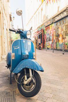 韋士柏 | Vespa Piaggio | martinlux:  The Scooters of Marseille (France) - August, 2013 Fujifilm X100S