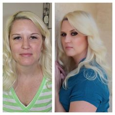Before and After Picture. Visit our website to purchase products. www.theonebeautylounge.com