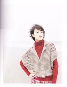 코바늘뜨개 : 가디건 도안 / 아웃터 도안 : 네이버 블로그 Crochet Shirt, Crochet Cardigan, Crochet Tops, Crochet Clothes, Crochet Patterns, Bell Sleeve Top, Tunic Tops, Knitting, Sweaters
