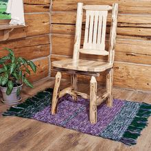 Our Popular Amish Pine Log Dining Chair. Made In America. Http://