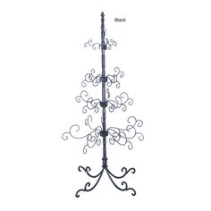wrought iron christmas tree will prepare any room for that special day - Iron Christmas Tree