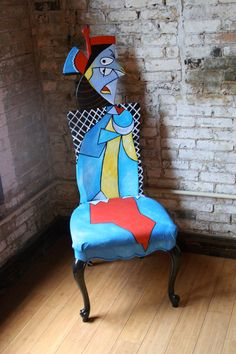 the Pablo Picasso chair