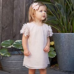 Buy online high quality white flower girl dress, christening dress, baptism dress, baby girl birthday outfit on Girly Shop. Free Worldwide Shipping!