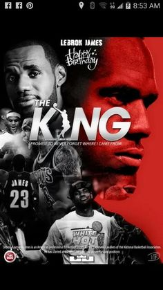 THE KING OF NBA!