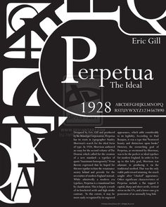 Layout inspiration for typeface poster