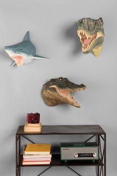 Husband room. Shark Head Wall Sculpture - Urban Outfitters