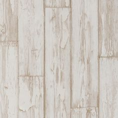 Buy Peeling Planks Wp White, a feature wallpaper from Clarke and Clarke, featured in the Wild Garden collection from Fashion Wallpaper. Wood Effect Wallpaper, Feature Wallpaper, White Wallpaper, Peelable Wallpaper, Nautical Bathrooms, Dining Room Walls, White Home Decor, How To Distress Wood, Room Themes